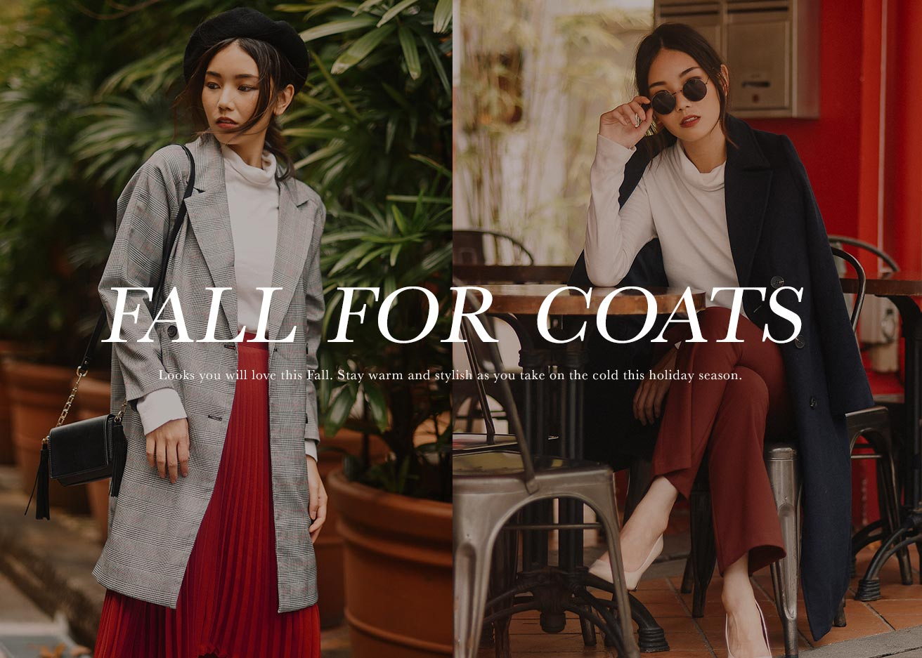 FALL FOR COATS