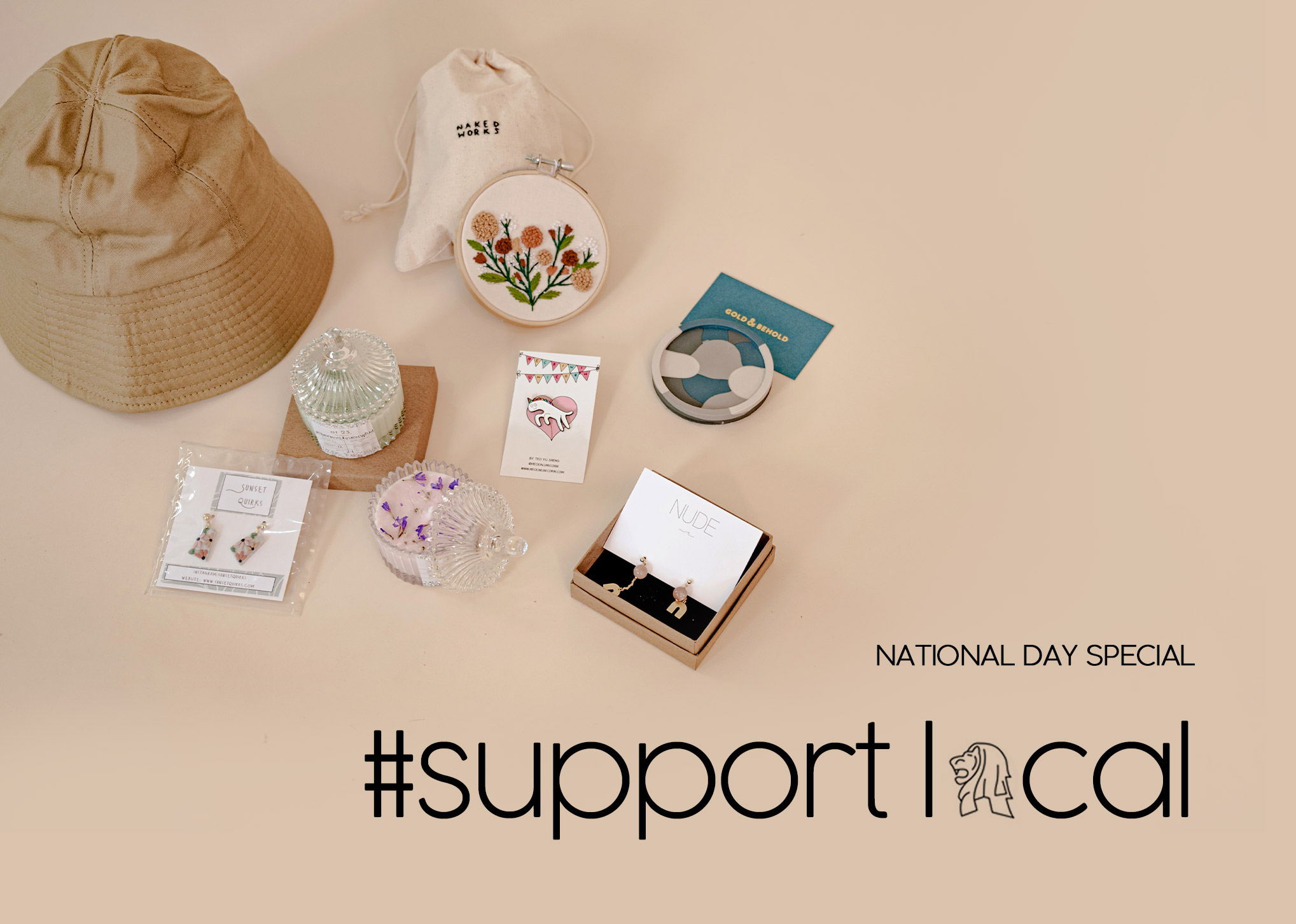 NATIONAL DAY SPECIAL: #supportlocal