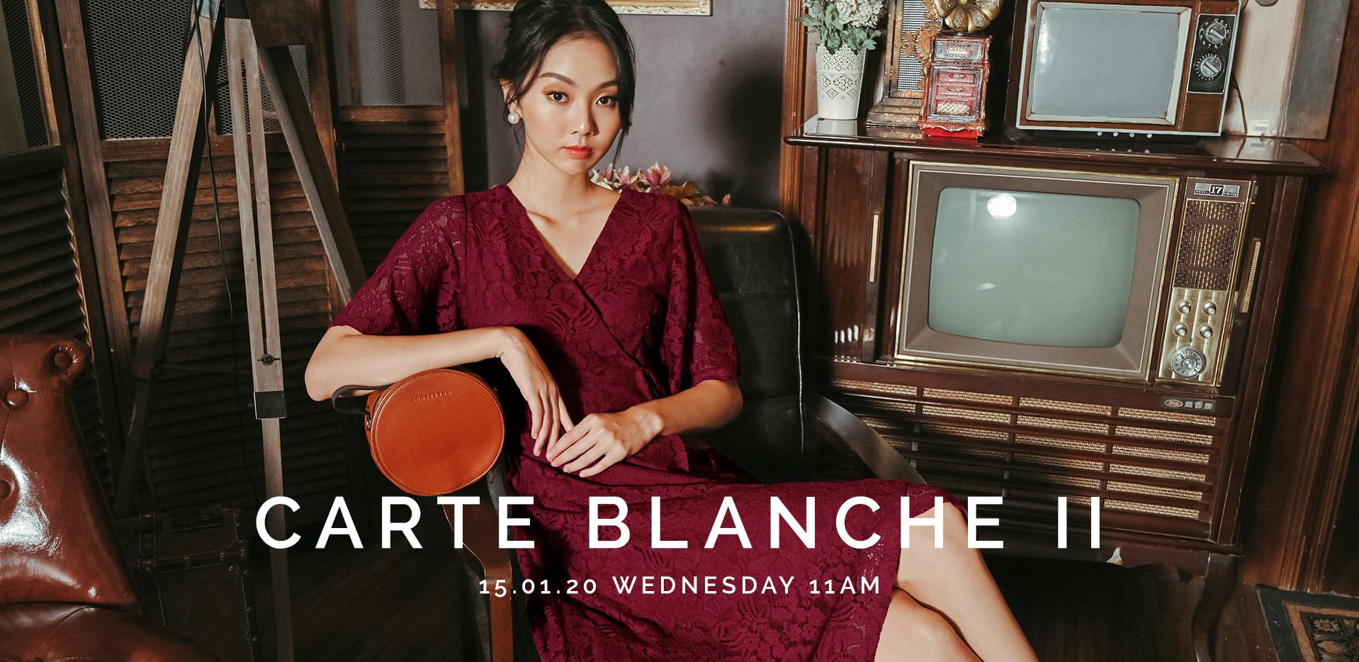 CARTE BLANCHE II
