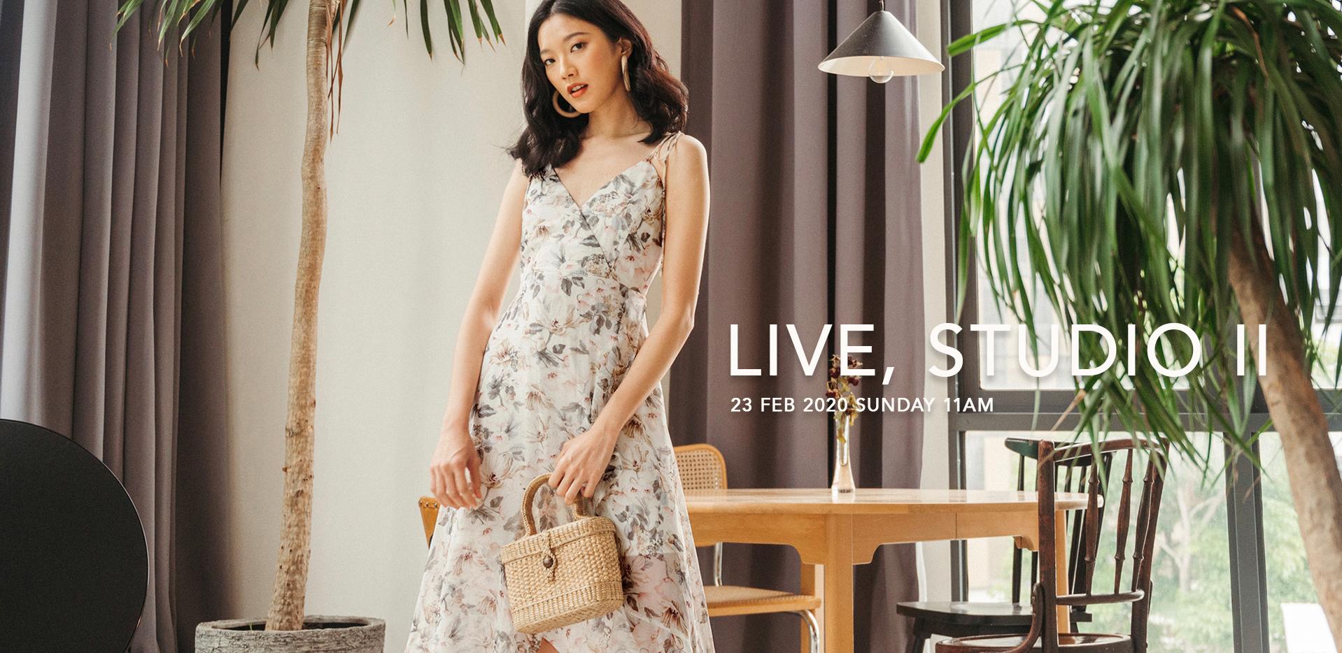 LIVE, STUDIO II
