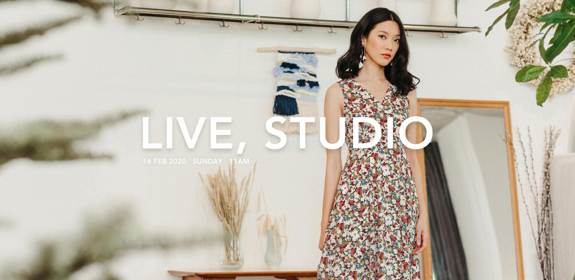 LIVE, STUDIO