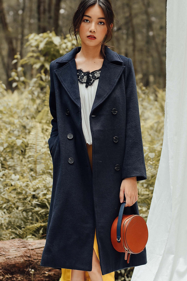 HOUSTON COAT IN NAVY
