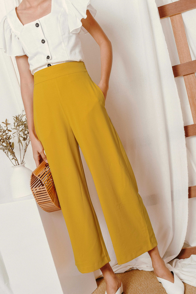 LANGDON PANTS IN YELLOW