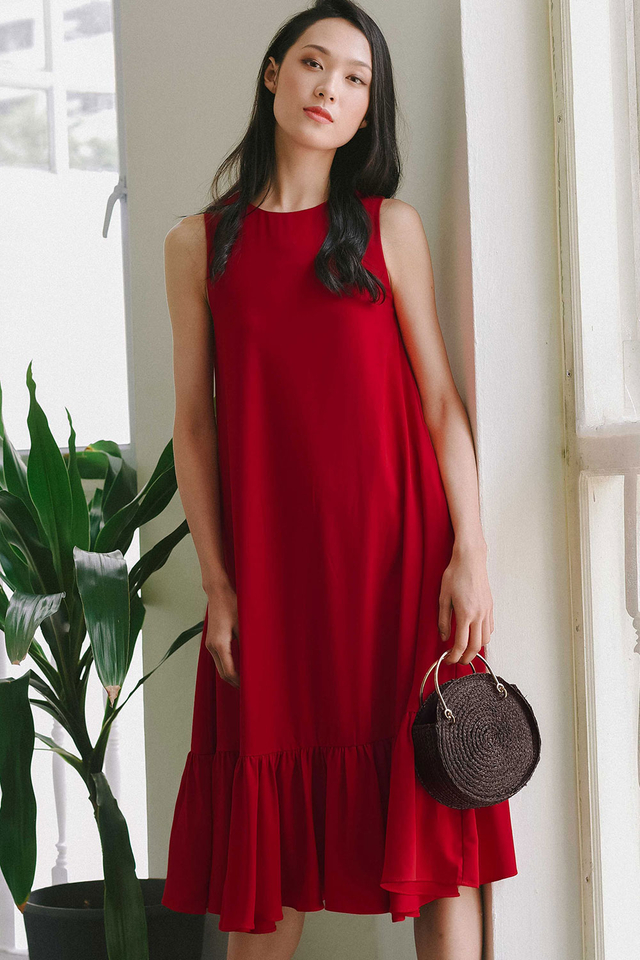 *RESTOCKED* AGGIE TRUMPET MIDI IN RED