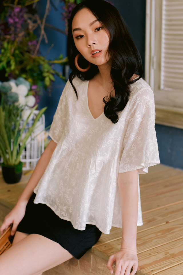 *RESTOCKED 2* SAMIE BABYDOLL TOP