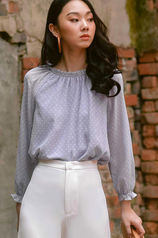 *RESTOCKED* SONYA TOP IN MOONSTONE