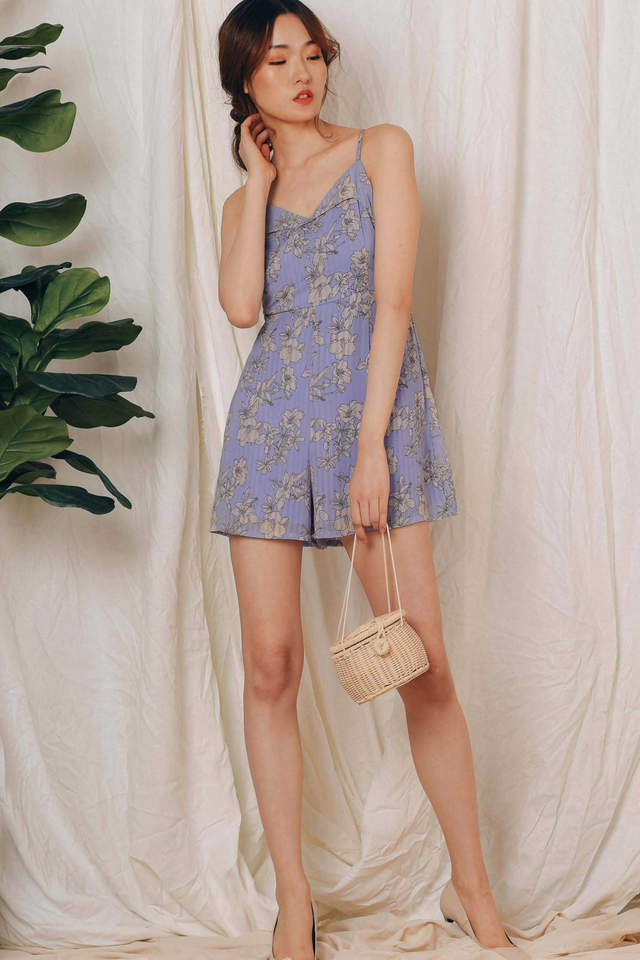 ELY PLAYSUIT IN LAVENDER