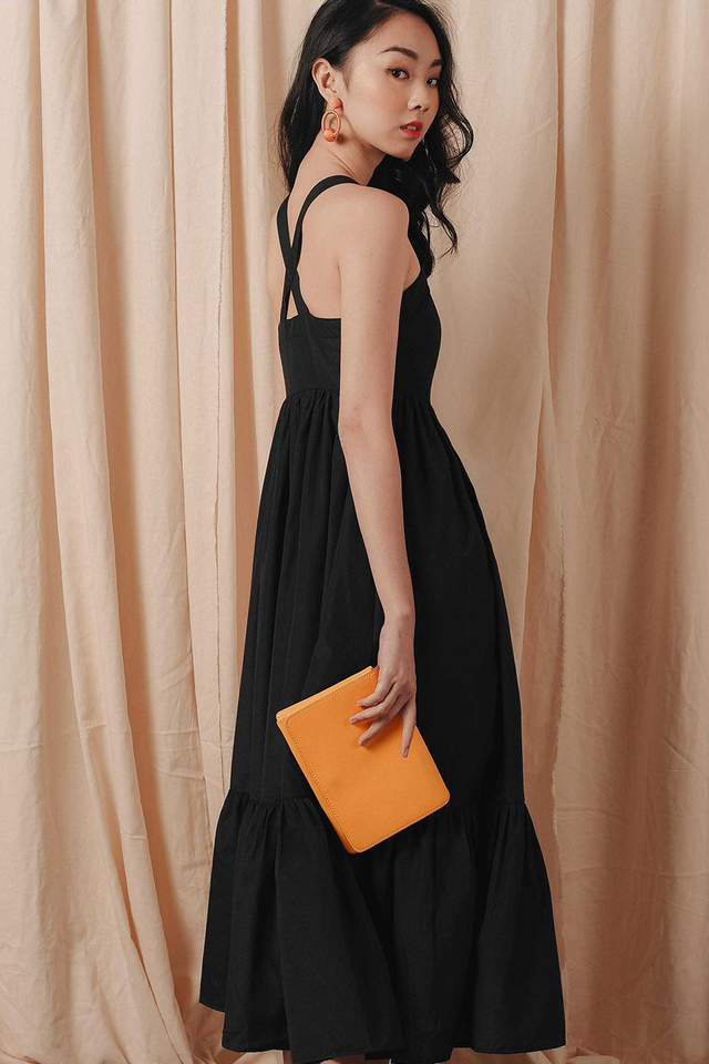 QUAY MAXI IN BLACK