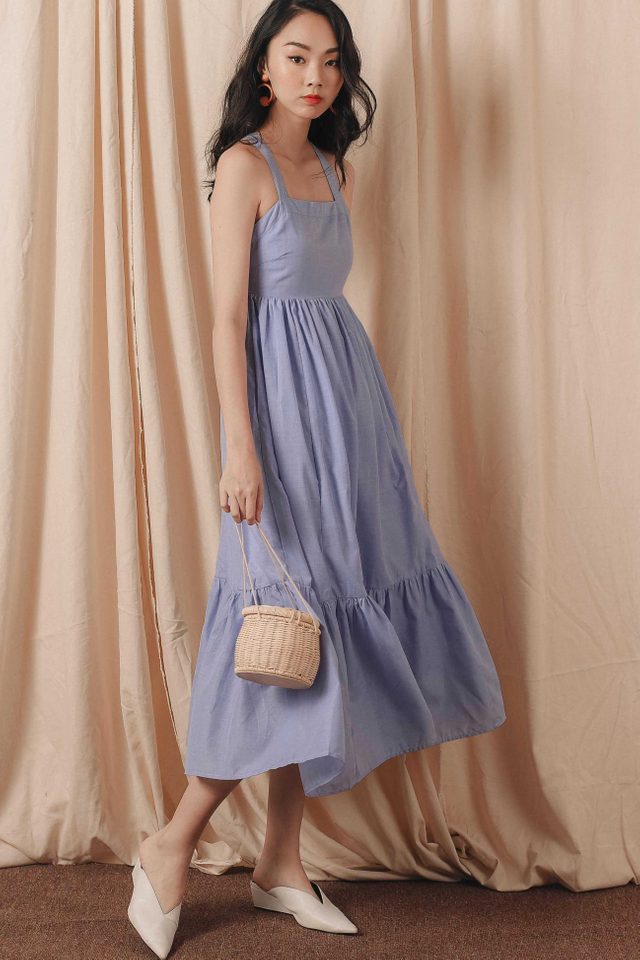 QUAY MAXI IN PERIWINKLE