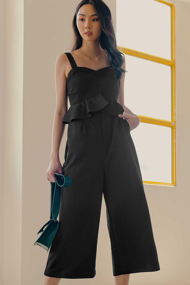 MARCI JUMPSUIT IN BLACK