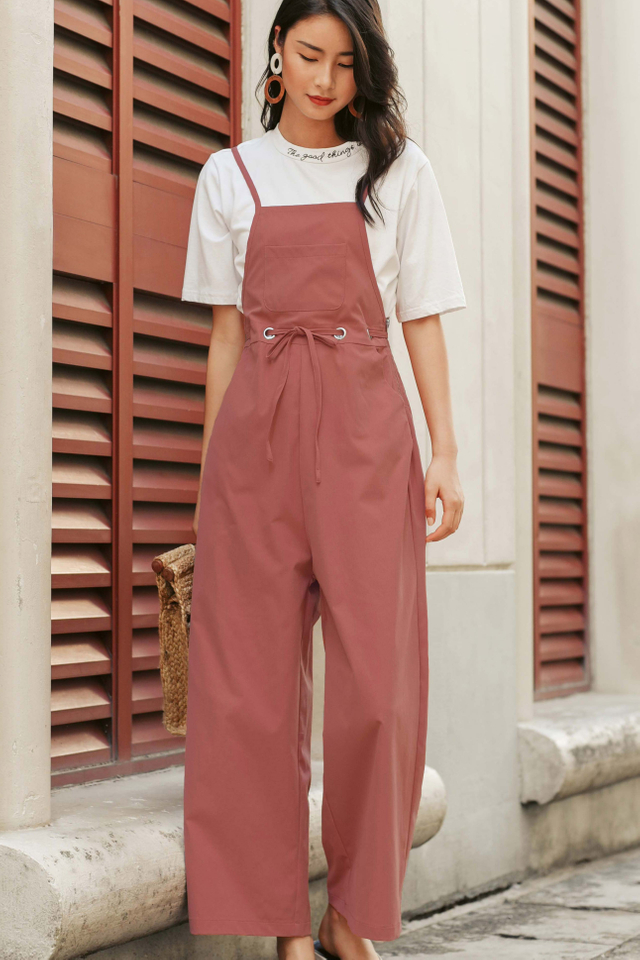 *RESTOCKED* EVAN JUMPSUIT IN PINK