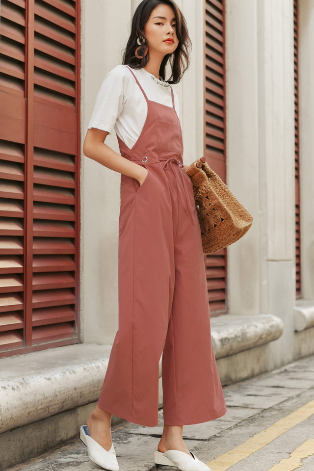 *BACKORDER* EVAN JUMPSUIT IN PINK