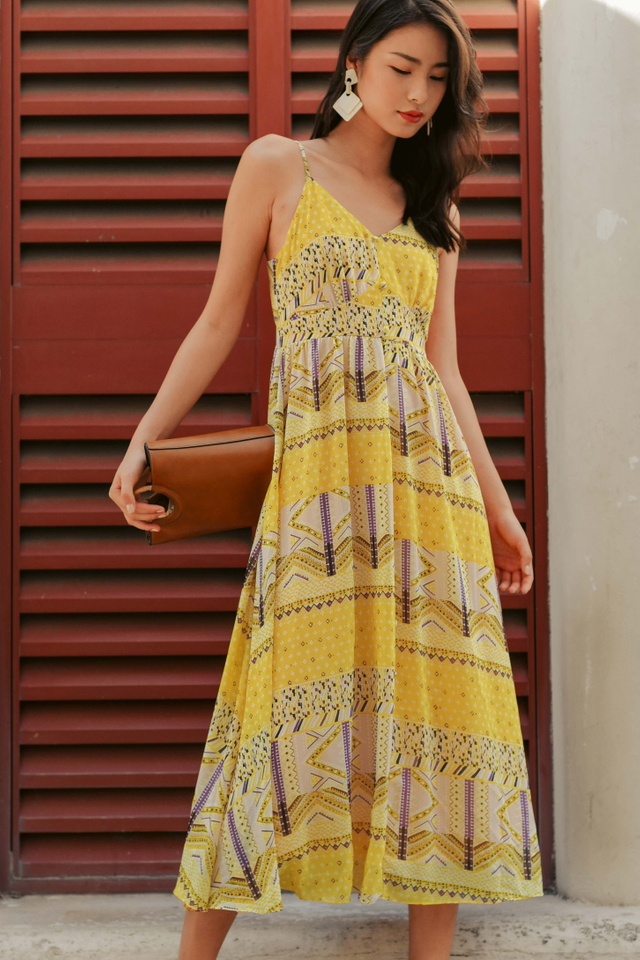 WEKI MAXI IN YELLOW