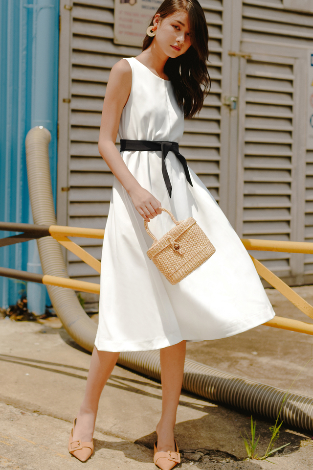 SEIRA TWO WAY MIDI IN WHITE