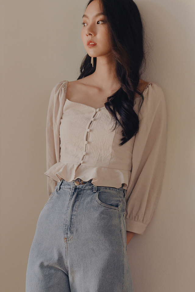 *RESTOCKED* BRADLEY TOP IN OAT