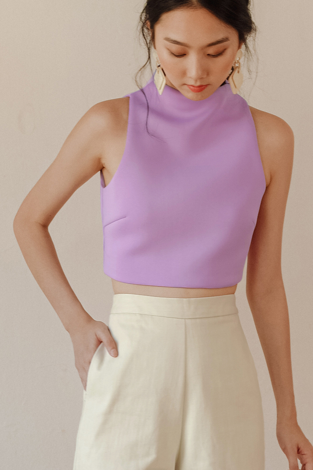 KENZIE TOP IN LAVENDER