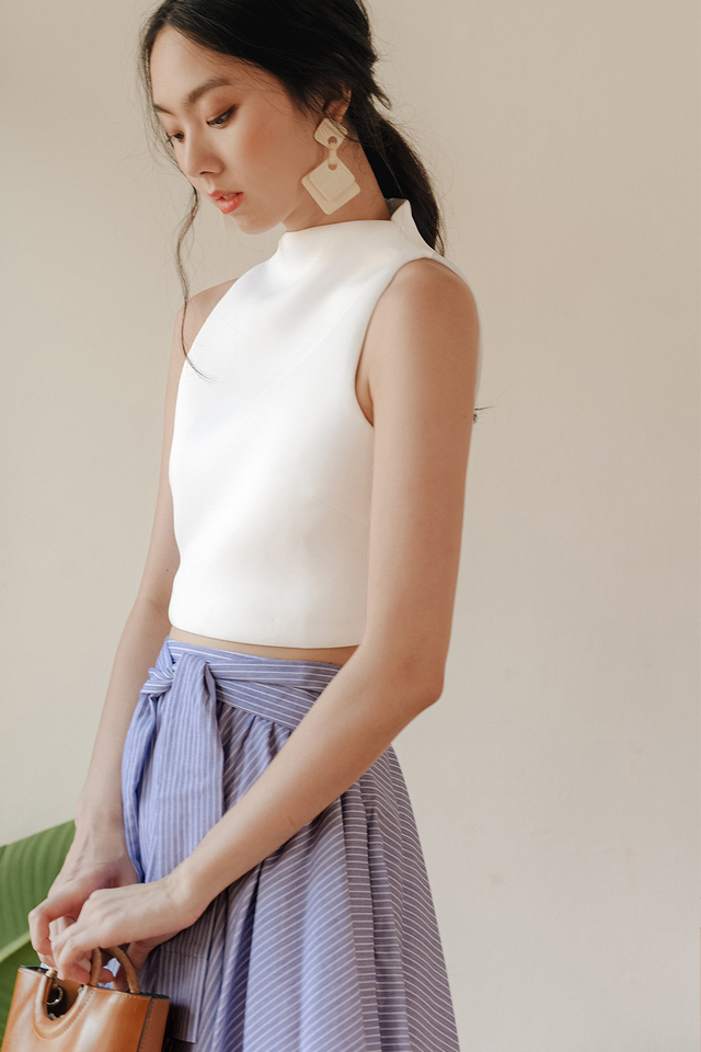 *RESTOCKED* KENZIE TOP IN WHITE