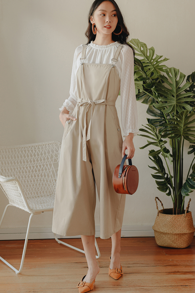 SOIREE JUMPSUIT IN ECRU