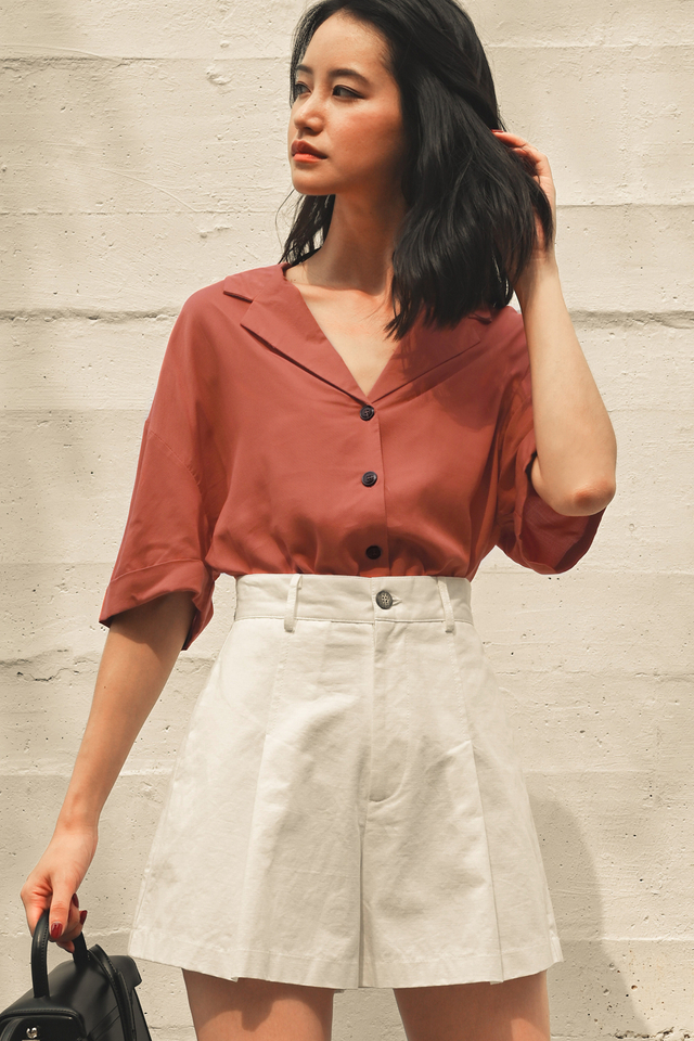 ASHTON TOP IN TERRA COTTA