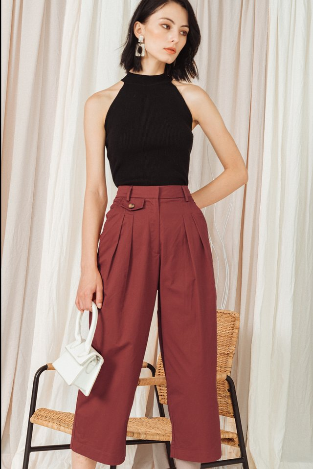 ALDRIDGE CULOTTES IN REDWOOD