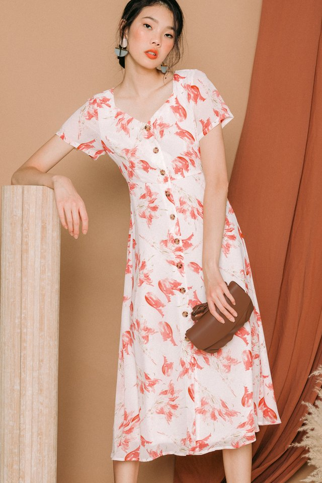 DIONNE BUTTON MIDI IN CORAL