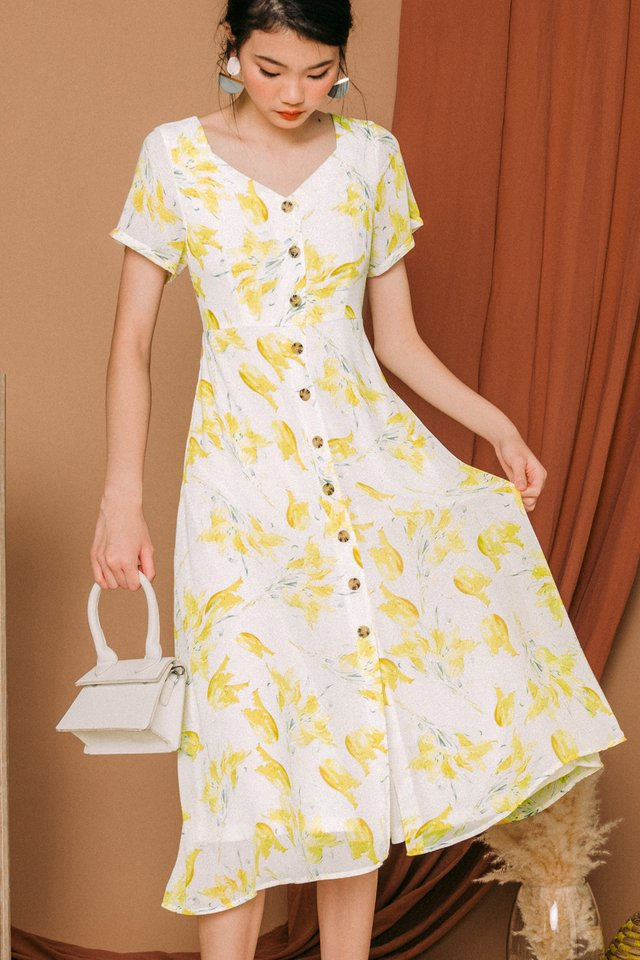 DIONNE BUTTON MIDI IN YELLOW