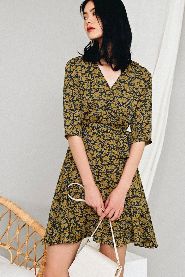 KELLAR WRAP DRESS