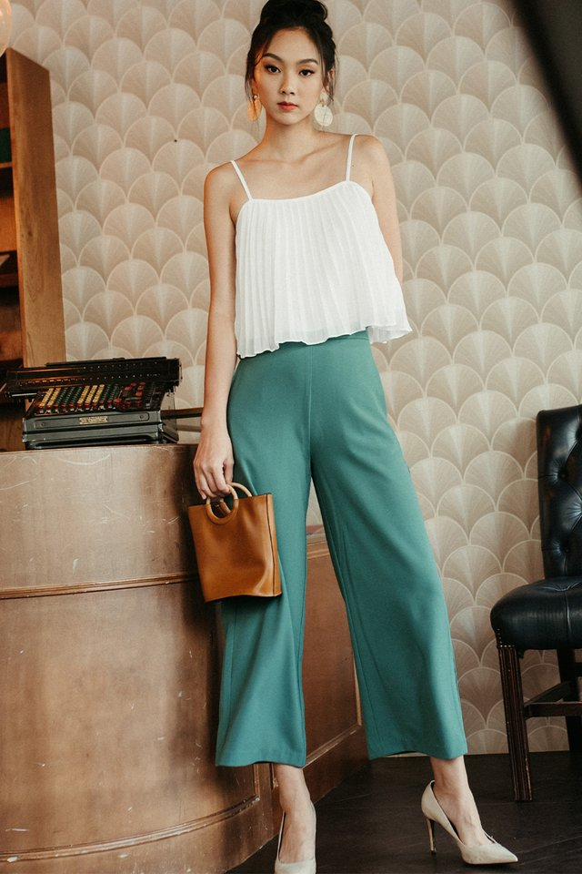 *RESTOCKED* LANGDON PANTS IN SAGE