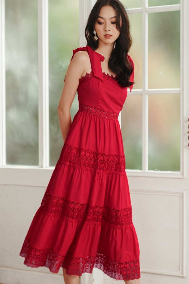 ALABAMA MAXI IN RED
