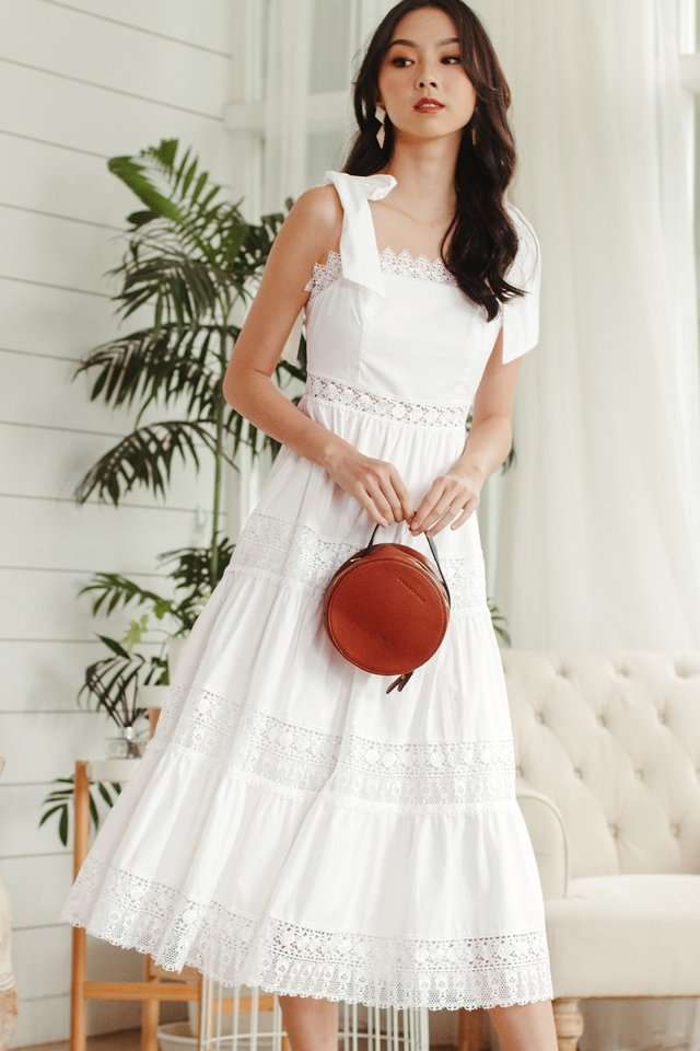 ALABAMA MAXI IN WHITE