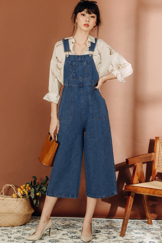 *BACKORDER* EDA DENIM JUMPSUIT