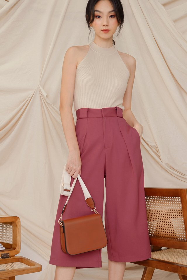 JEANA CULOTTES IN ROSE