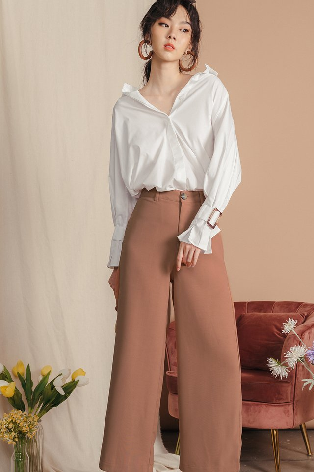 KYNA PANTS IN CARAMEL