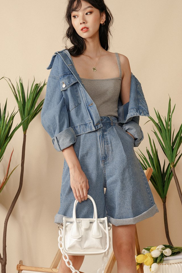 *BACKORDER* OVERSIZED DENIM JACKET