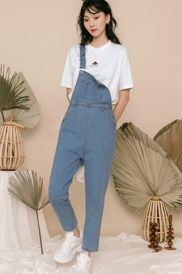 *RESTOCKED* ELI DENIM DUNGAREE