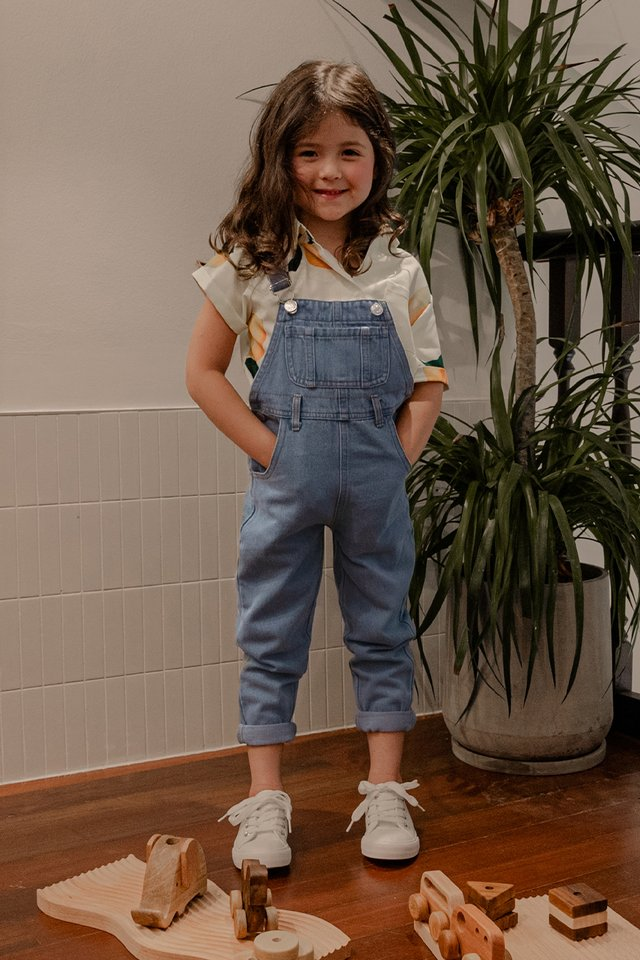 *KIDS* ELI DENIM DUNGAREE