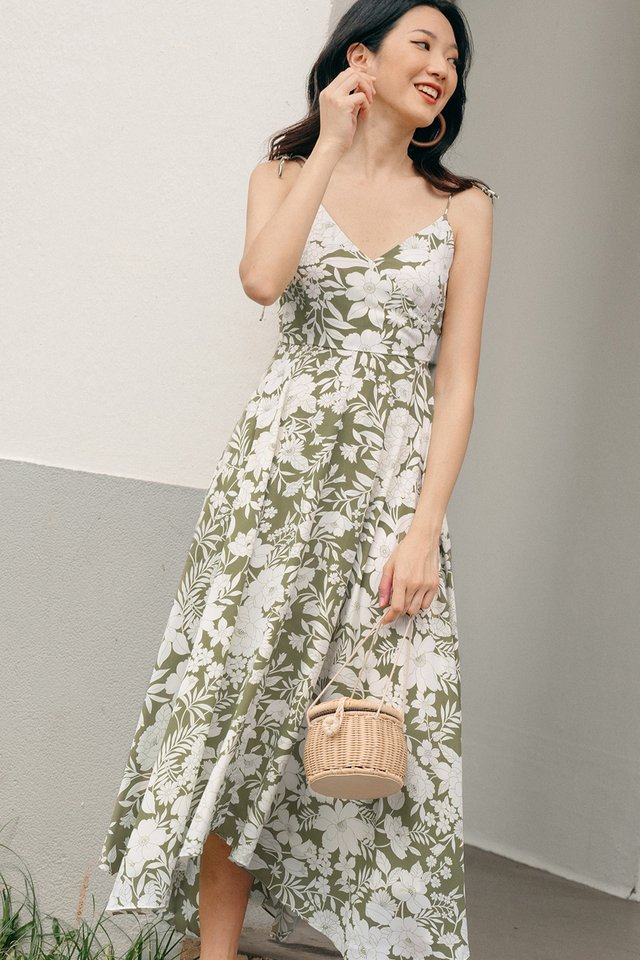 CHEVELL MAXI IN OLIVE