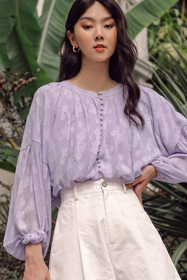 KAIDI TOP IN LAVENDER