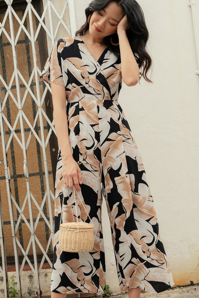 KEW JUMPSUIT IN BLACK