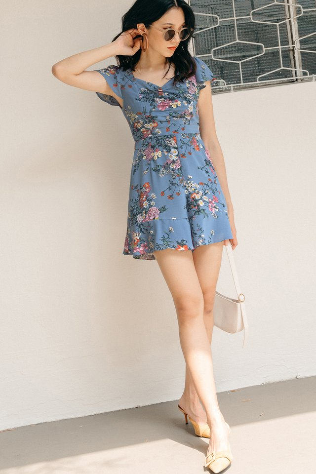LAVON PLAYSUIT IN BLUE