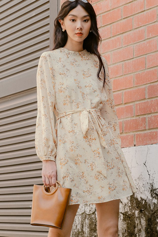 LYNDEE DRESS IN CREAM