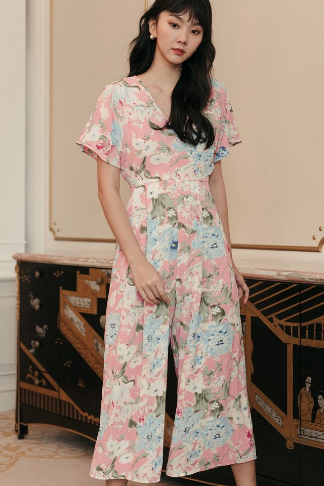 HARRISON JUMPSUIT IN PINK