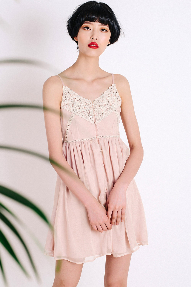 LAURYN SUNDRESS IN NUDE PINK
