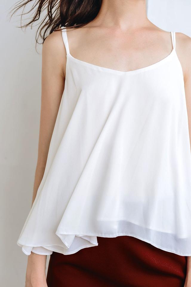 LETICIA TOP IN WHITE