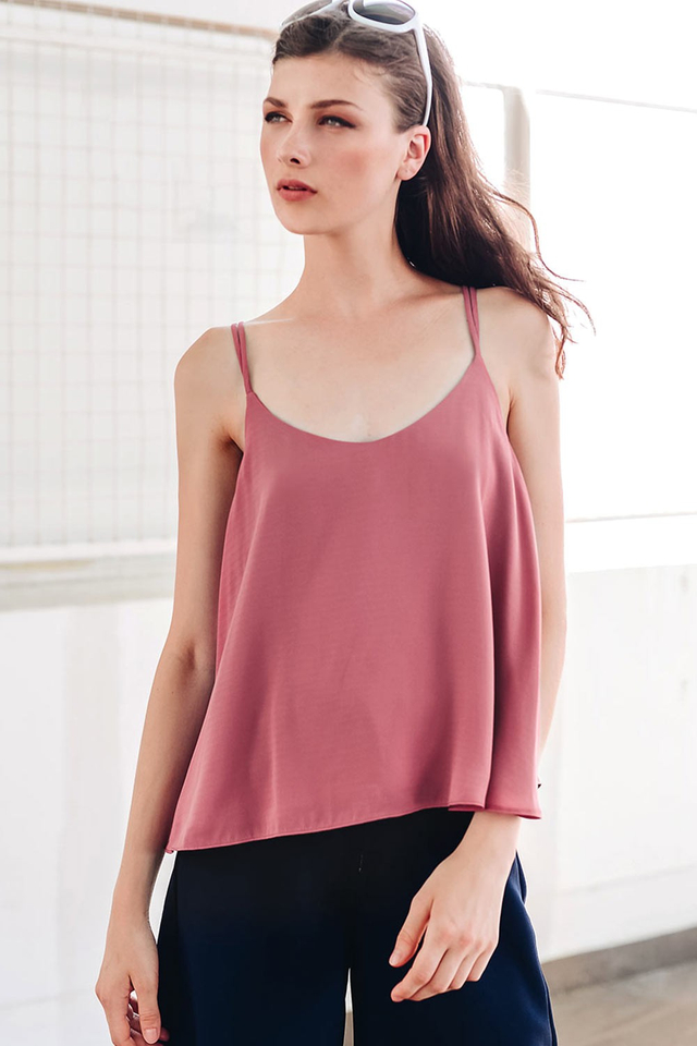 LETICIA TOP IN DUSK ROSE