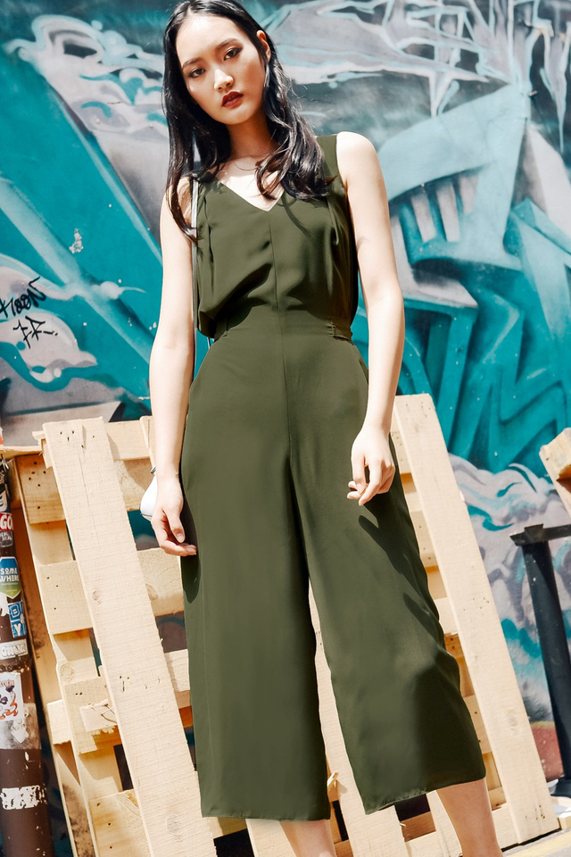 MONTANA JUMPSUIT IN MILITARY