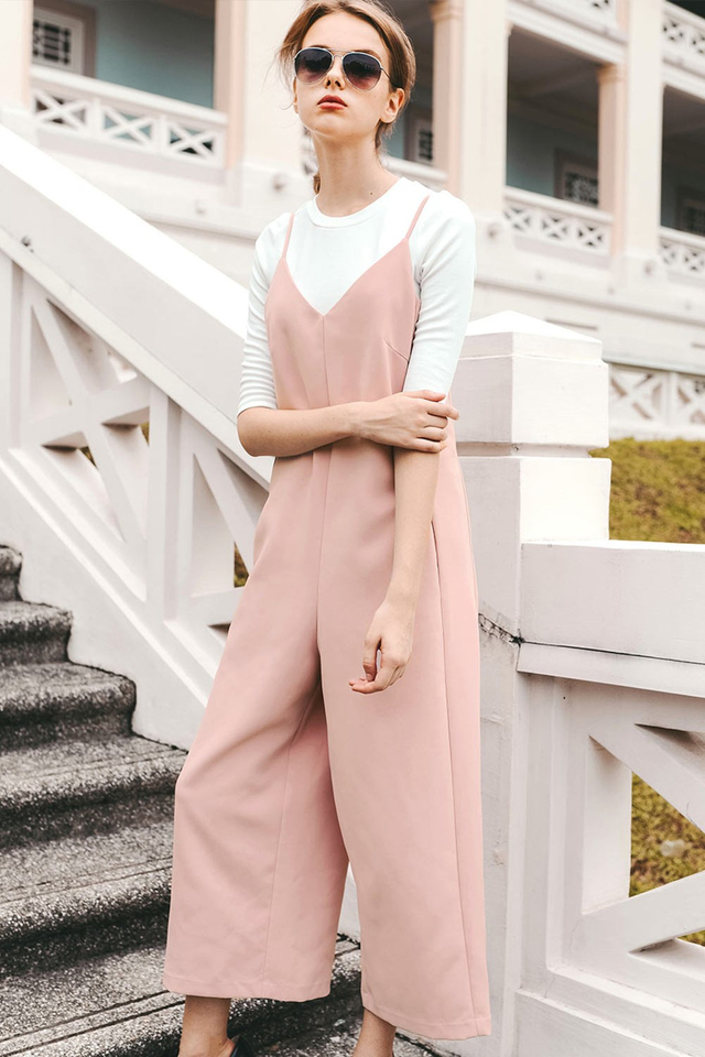 ORLEANS JUMPSUIT IN PINK