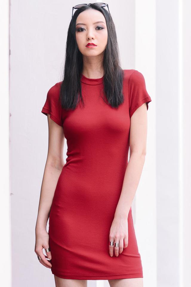 *BRIDGE* Dakota Dress in Red