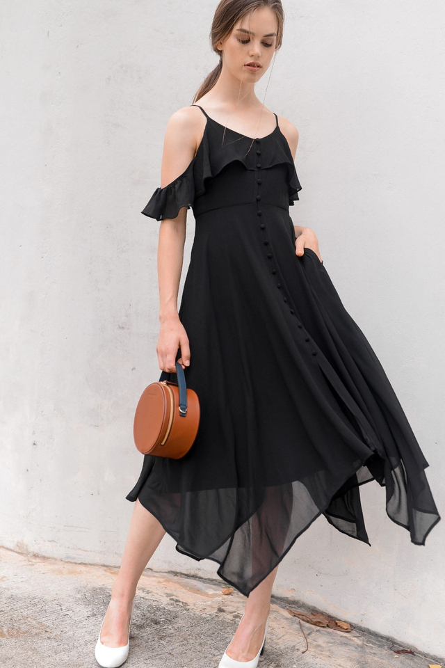 SCARLETT MAXI IN BLACK