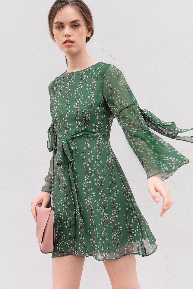 ACACIA DRESS IN GREEN